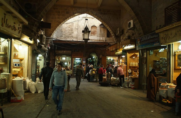 Ancient_covered_souq,_Aleppo,_Syria_-_1