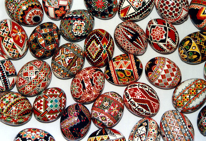 Pysanky Ukrainian Decorated Eggs L Amore E Forte Come